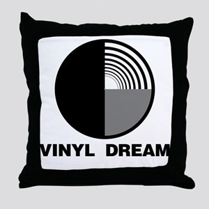 vinyl_dream Throw Pillow