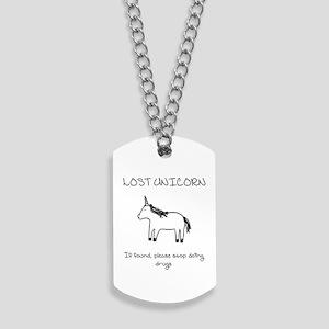 Lost Unicorn Dog Tags