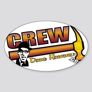 crewback Sticker (Oval)