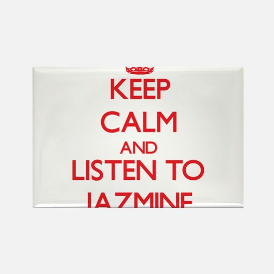 Keep Calm and listen to Jazmine Magnets