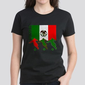 Mexico Soccer Women's Colored T-Shirt