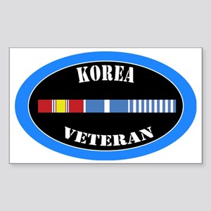 korea-0-1-oval Sticker (Rectangle)