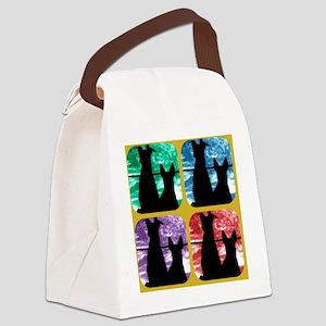 Window Watchers Canvas Lunch Bag