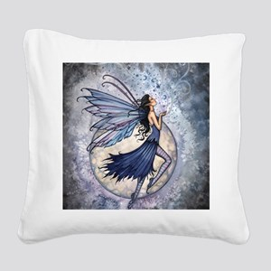 Midnight Blue cp Square Canvas Pillow