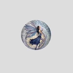 Midnight Blue cp Mini Button