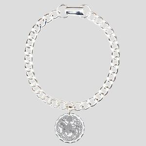 nsleipnir2_white Charm Bracelet, One Charm