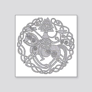 "nsleipnir2_white Square Sticker 3"" x 3"""