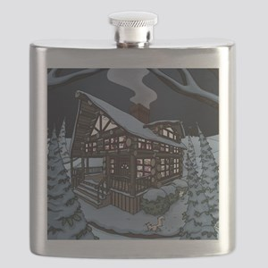 cabin color Flask