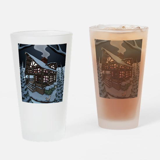 cabin color Drinking Glass