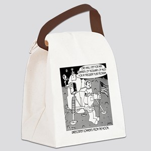 5227_space_cartoon Canvas Lunch Bag