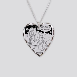 6530_cleaning_cartoon Necklace Heart Charm