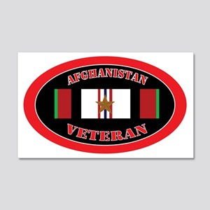 Afghanistan-1-oval 20x12 Wall Decal
