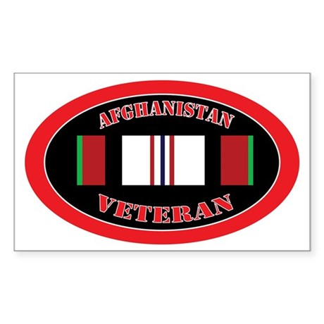 Afghanistan-0-oval Sticker (Rectangle)