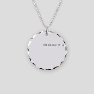 FESTIVUS™ DARK Necklace Circle Charm