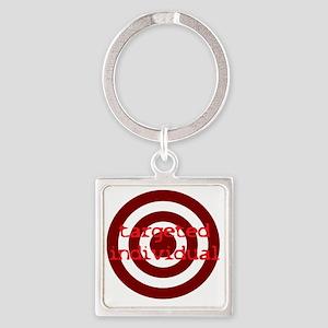 TI Square Keychain