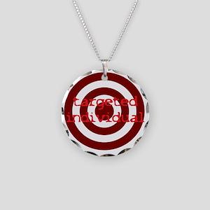 TI Necklace Circle Charm