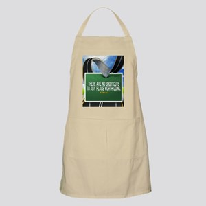 Places Worth Going Quote Apron