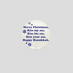 Merry-Xmas Mini Button