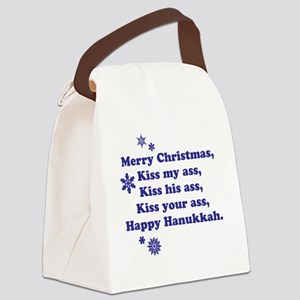 Merry-Xmas Canvas Lunch Bag