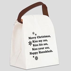 Merry-BKXmas Canvas Lunch Bag