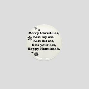 Merry-BKXmas Mini Button