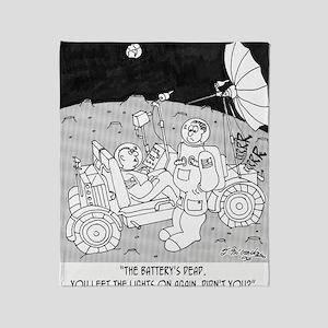 3048_space_cartoon Throw Blanket