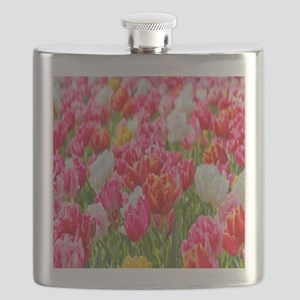 bright-vivid-flowers Flask