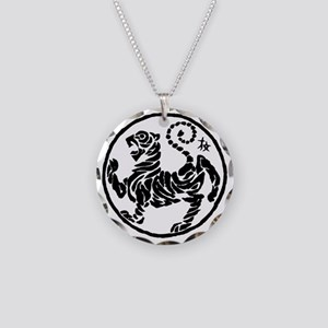 Tiger5InchAlltransparency Necklace Circle Charm