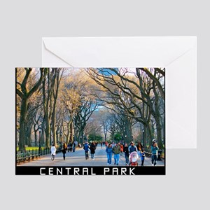 Central Park 3 Greeting Card