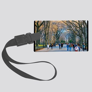 Central Park 3 Large Luggage Tag
