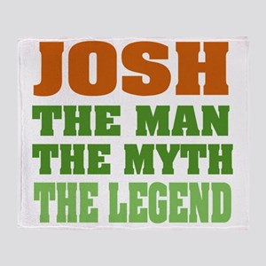 Josh The Legend Throw Blanket