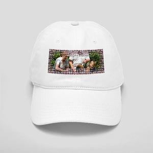 Personalizable Pink Bling Frame Cap 7549fe4b2beb
