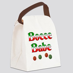 Bocce Babe Canvas Lunch Bag