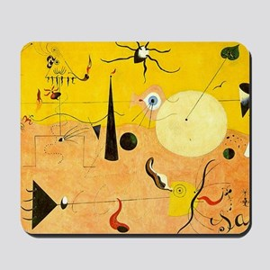 Catalan Landscape The Hunter Mousepad