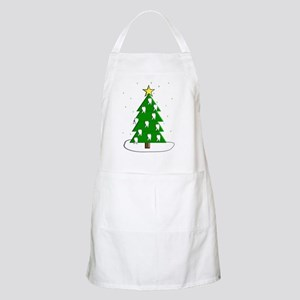 Dentist tooth christmas tree NO BACKGROUND Apron