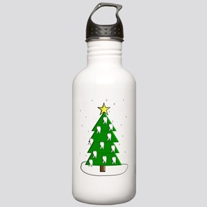 Dentist tooth christma Stainless Water Bottle 1.0L