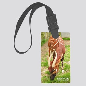 bongo_journal Large Luggage Tag