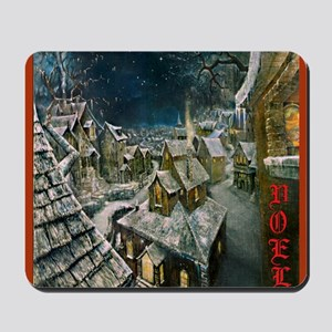 Fire and Ice Cafe Mousepad