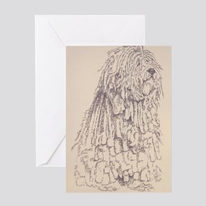Bergamasco_KlineZ Greeting Card