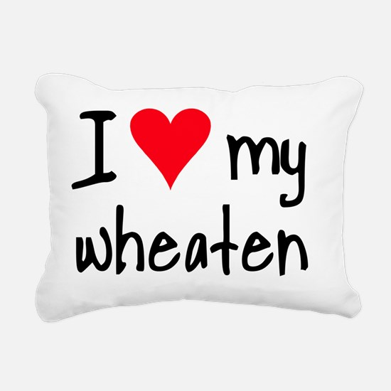 iheartwheaten Rectangular Canvas Pillow