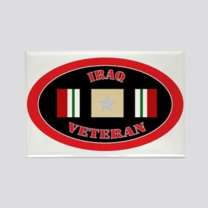 Iraq-5-oval Rectangle Magnet