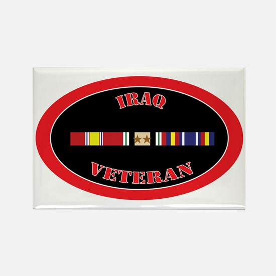 Iraq-2-1-oval Rectangle Magnet