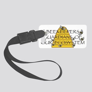 beekeepers wide Small Luggage Tag