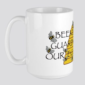 beekeepers wide Large Mug