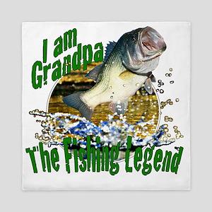 Grandpa fish Queen Duvet