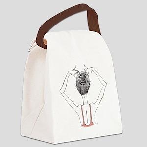 Bunhead Canvas Lunch Bag