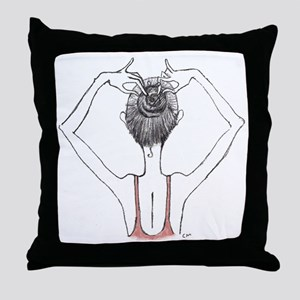 Bunhead Throw Pillow