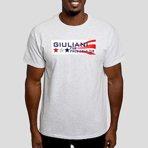 ::: Rudy Giuliani - Stripes ::: Light T-Shirt