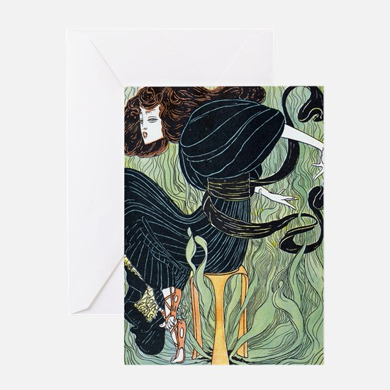 JUGEND 1896 PYTHIA - EDIT Greeting Card