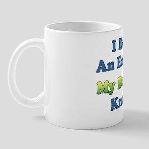 Brazilian Wife Knows It All Mug